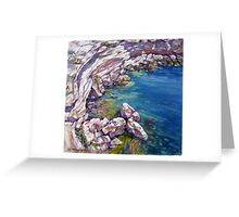 Birds Eye Bay-Malta Greeting Card