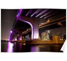 Rickenbacker Causeway - Miami Florida Poster