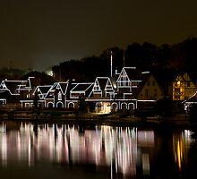 Boat House Row, Philadelphia PA by Rachelle Vance