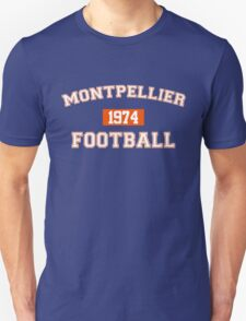 Montpellier Football Athletic College Style 1 Color T-Shirt