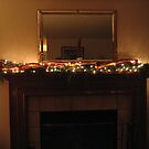 Tiny Lights and Gold Ribbon by Pat Yager