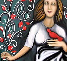 """Loves Me, Loves Me Not"" by Marianne (Smith) Dalton (mdaltonart)"