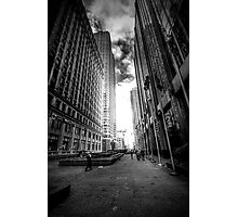 The Street of Flags Photographic Print