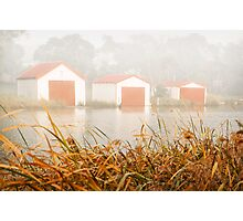 """""""Morning Boat Sheds"""",Anglesea,Great Ocean Road,Australia. Photographic Print"""