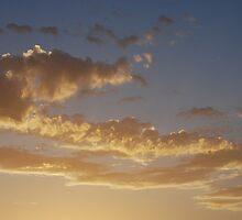 painted sky by Hannah Saldaris