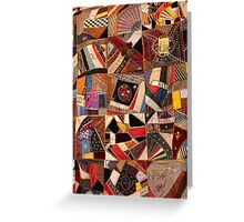 Crazy Quilt #3 Greeting Card