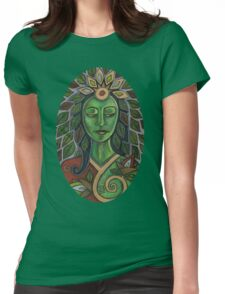 Gaia Tee Womens Fitted T-Shirt