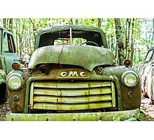 GMC Truck Photographic Print
