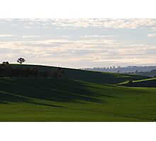 green hills Photographic Print