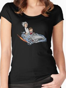 Great Scott !!! Women's Fitted Scoop T-Shirt