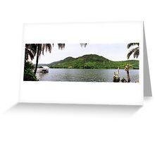an unbelievable Ghana landscape Greeting Card