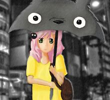 Walking with Totoro by agustindesigner