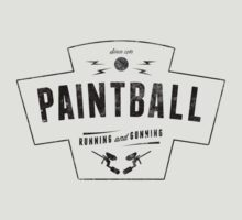 Running and Gunning Paintball! by dtkindling