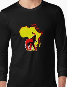 african elephant t-shirt Long Sleeve T-Shirt