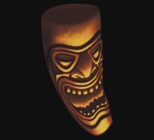 The laughing Tiki by Mike Cressy