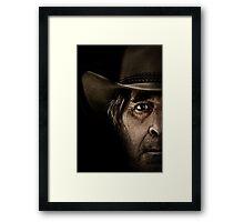shane again Framed Print
