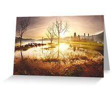 Tamblingan Lake Greeting Card