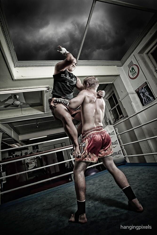 Amm Muay Thai - Elbow by hangingpixels