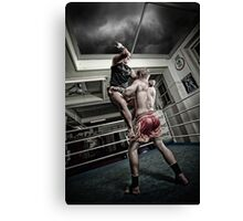 Amm Muay Thai - Elbow Canvas Print