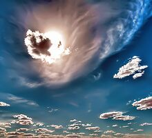 Meteor Cloud - Coober Pedy, SA by Daveylad