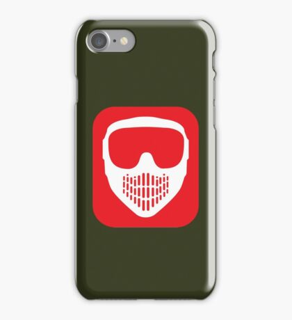 Paintball Goggles iPhone Case/Skin