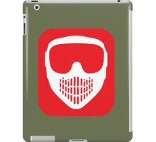 Paintball Goggles iPad Case/Skin