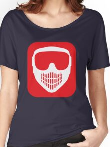 Paintball Goggles Women's Relaxed Fit T-Shirt