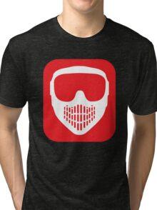 Paintball Goggles Tri-blend T-Shirt