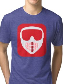 Paintball Goggles Tri-blend T-Shirt