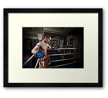 Ty Muay Thai - Ring Side Framed Print