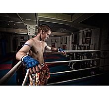 Ty Muay Thai - Ring Side Photographic Print