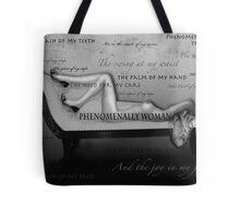 Phenomenally Woman Tote Bag
