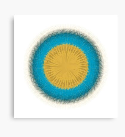 Circle Study No. 130 Canvas Print