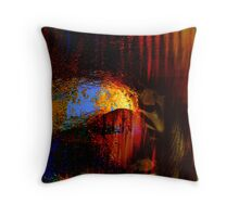 caves....... early homo sapiens Throw Pillow