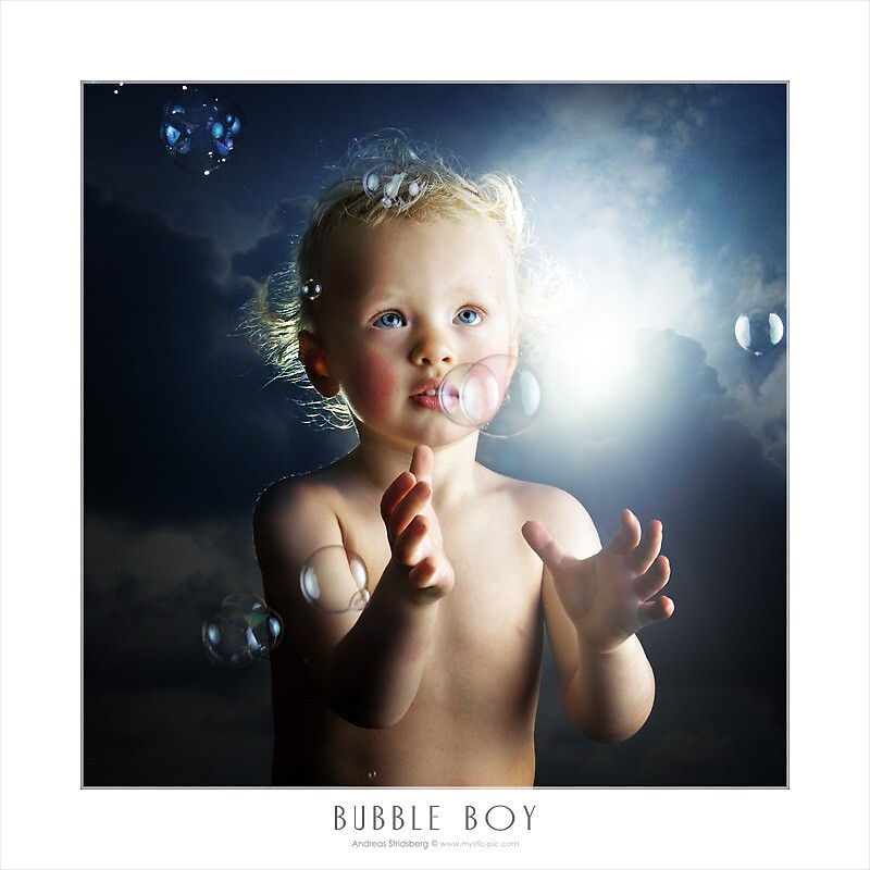 Bubble Boy by Andreas Stridsberg