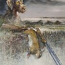 Eowyn - German Wire Hair Pointer by Pieter  Zaadstra