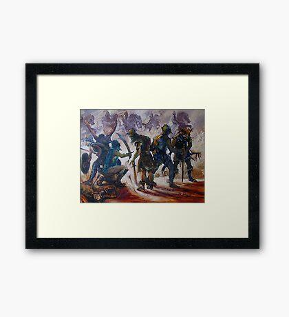 Yurak Hai Warriors - Lord of the Rings Framed Print