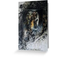 Rider of Rohan - Lord of the Rings Greeting Card
