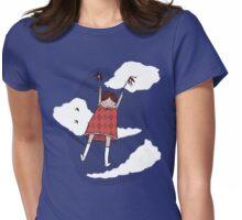 Flight patterns Womens Fitted T-Shirt