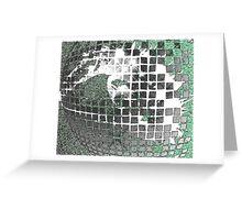 Disco Ball Eye Greeting Card