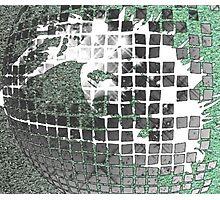Disco Ball Eye Photographic Print