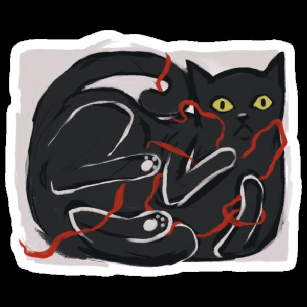 Cat's grace by Alice Carroll