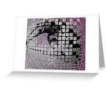 Disco Ball Eye #2 Greeting Card