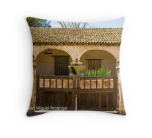 Mission San Miguel Arcángel Throw Pillow