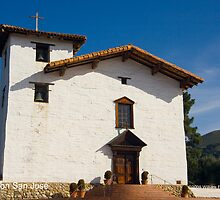 Mission San Jose by William Hackett