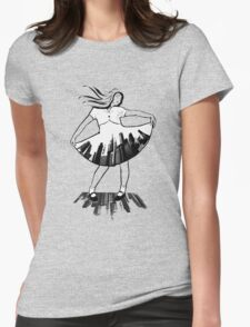fanciful in the city Womens Fitted T-Shirt
