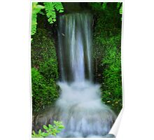 Minature waterfall Poster