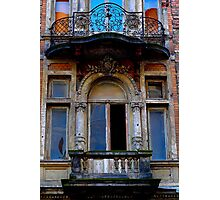 "City Life - ""Balconies, Windows, Shutters"" p.4 Photographic Print"