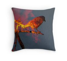 Sunset In Another Dimension Throw Pillow