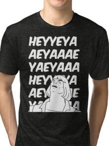 He-Man Sings! (black) Tri-blend T-Shirt